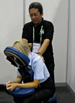 corporate massage sydney