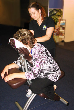 Seated Massage Sydney Melbourne
