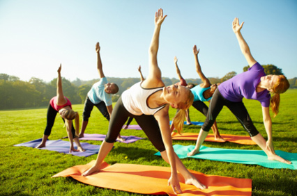 corporate yoga classes sydney