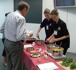 nutrition seminars and healthy cooking demos