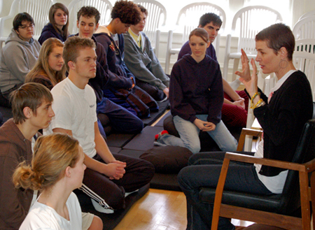 high school meditation classes
